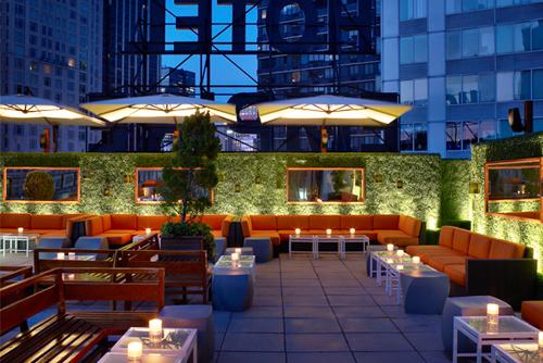 I migliori rooftop bar di new york city for Hotel a new york economici