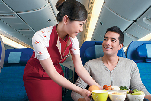 Cathay Pacific Hostess